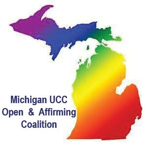 Michigan UCC Open and Affirming Coalition logo